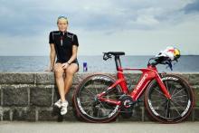 Den nykårede triatlet Camilla Pedersen står i spidsen for Wings for Life World Run.