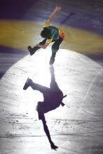 Akrobatik på isen