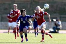 Svære modstandere til de danske kvinder i Algarve